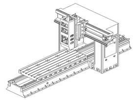 台正数控龙门加工中心TOM-SP1302B/1503B